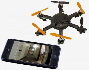 CyPhy Works Pocket Flyer, Tiny Tethered Drone Unveiled (video)