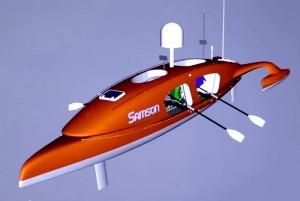 The Samson Row Boat Heading Across The Atlantic (video)