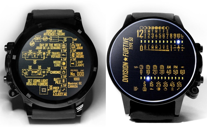 Type 50 watch