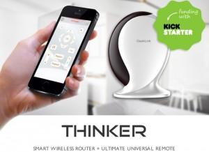 Thinker Next Generation Smartphone Universal Remote With IFTTT Support (video)