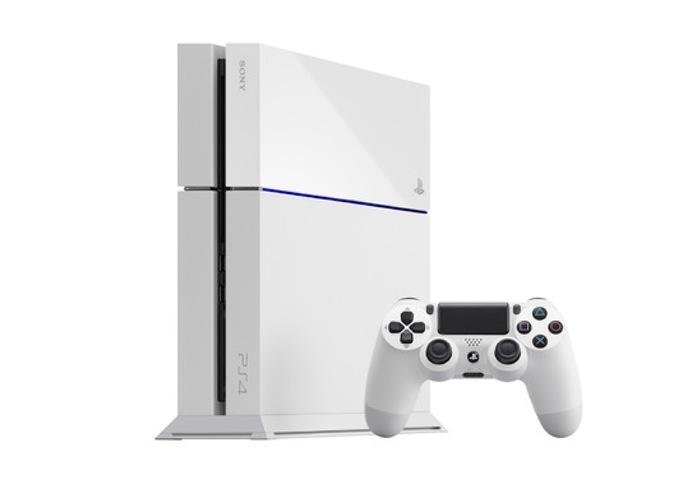 White PS4