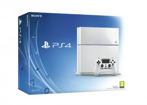 White PlayStation 4 Lands In The UK October 17th
