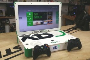 XBook Duo Game Console Laptop Combines Xbox One And Xbox 360 (video)