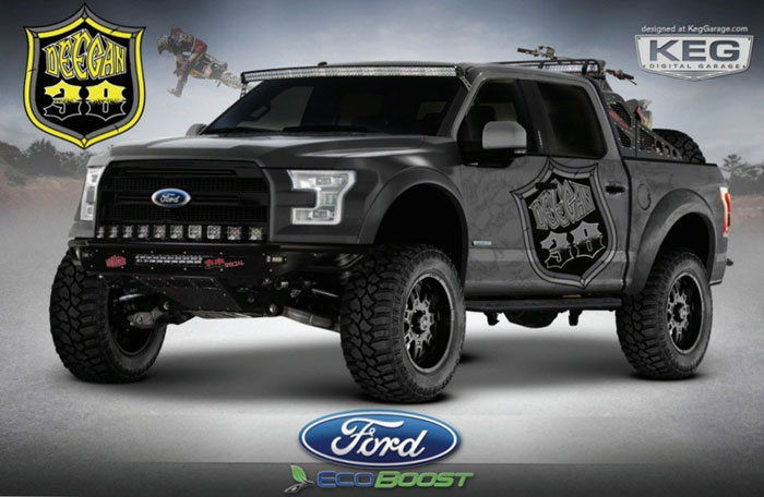 Custom Ford F-150s Aim for Hottest Truck Award at SEMA ...