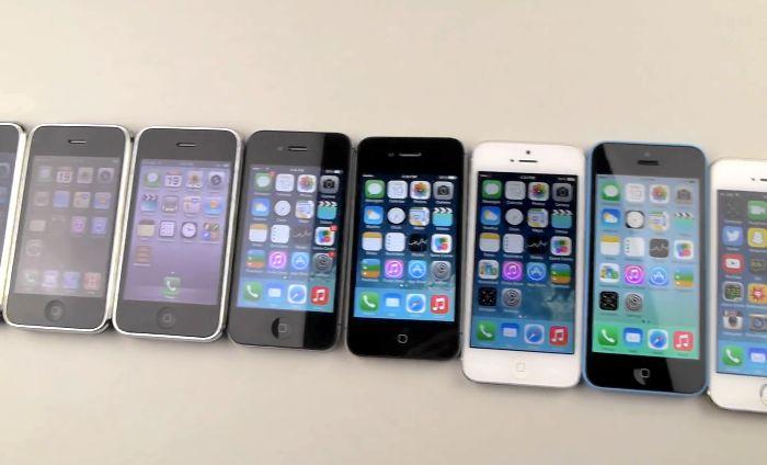 iPhone drop test