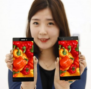 LG Display Develops World's Thinnest FHD Smartphone Bezel