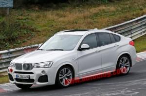 BMW X4 M40i Caught on Nurburgring sans Camo