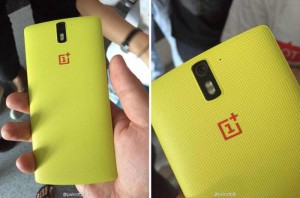 OnePlus One With Yellow Kevlar Back Poses For The Camera