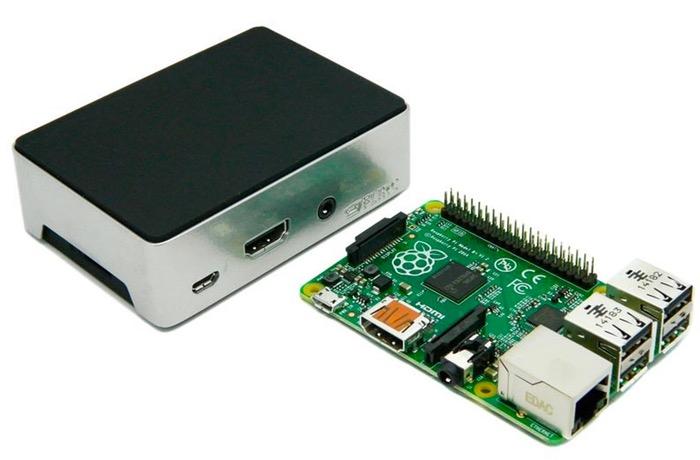 Aluminium Raspberry Pi Case