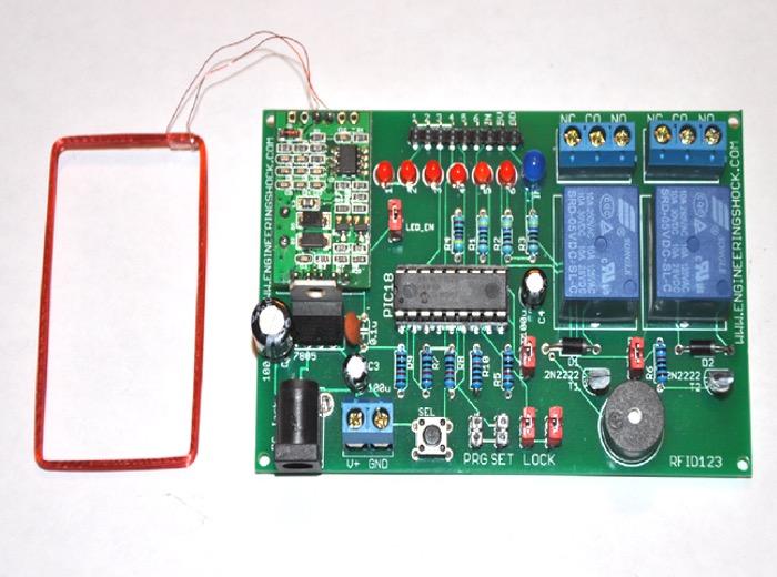 Arduino Compatible RFID Reader