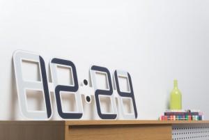 ClockONE By Twelve24 Uses World's Largest Die-cut E-Ink Display (video)