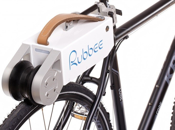 Rubbee 2 0 Electric Bike Drive Launches For 1 190 Video