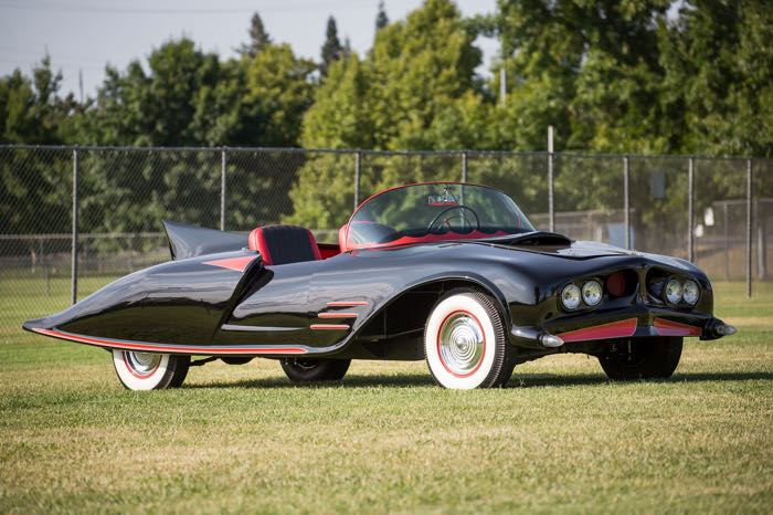 First Ever Official Batmobile