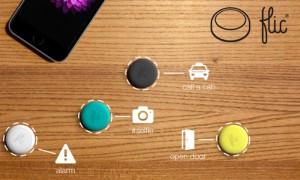 Flic Wireless Smartphone Button (video)