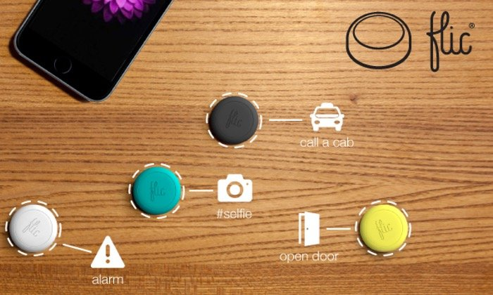 Flic smartphone button