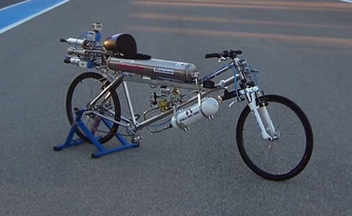 Rocket Powered Bicycle