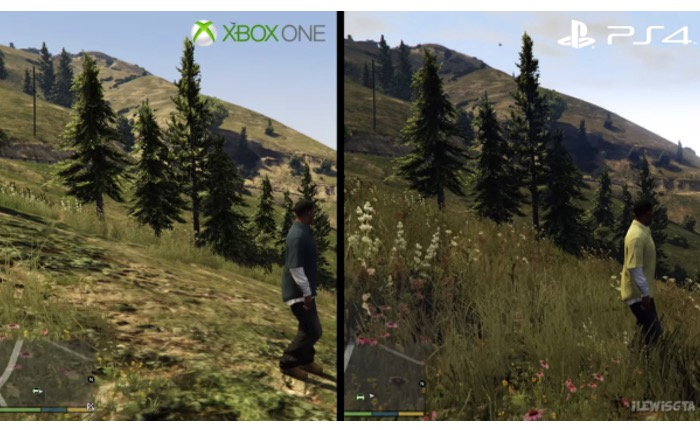 GTA V PlayStation 4 vs Xbox One Compared
