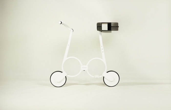 Impossible Electric Folding Bike