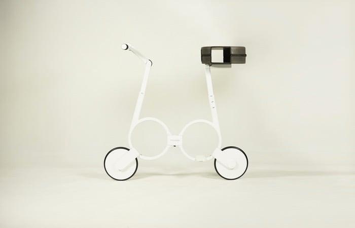 Impossible Electric Folding Bike