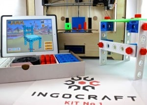 IngoCraft 3D Printable Construction Sets Designed On Your Tablet (video)