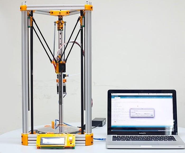 Kossel Mini DIY 3D Printer