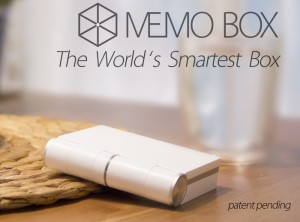 Memo Box The Smartphone Connected Smart Box (video)