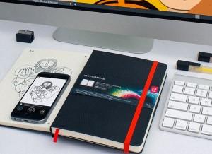 Moleskine Smart Notebook And iOS App Transform Sketches Into Vectors (video)