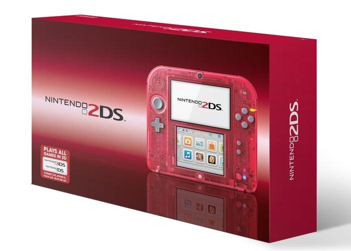 Nintendo Crystal Red