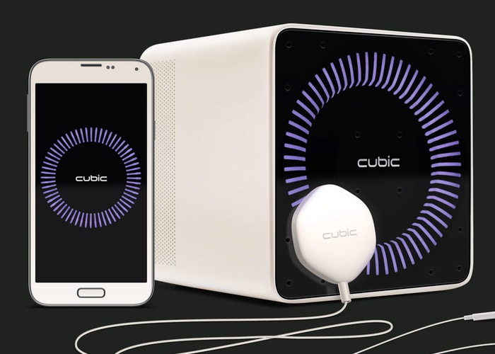 Cubic Personal Assistant With Artificial Intelligence And Personality (video)