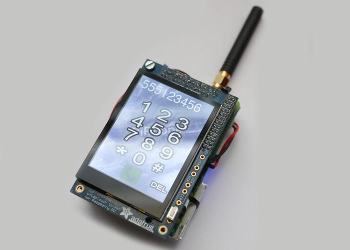Raspberry Pi Mobile Phone
