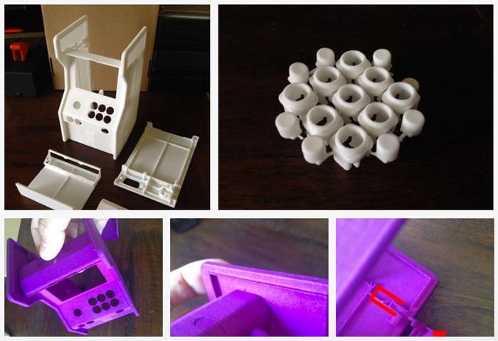 Mini Raspberry-Pi Arcade Cabinet Raspberry-Pi-arcade-cabinet1