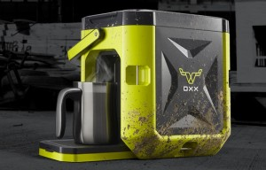 The COFFEEBOXX The World?s Toughest Coffee Maker (video)