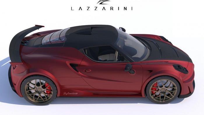 Tuned Alfa Romeo 4C