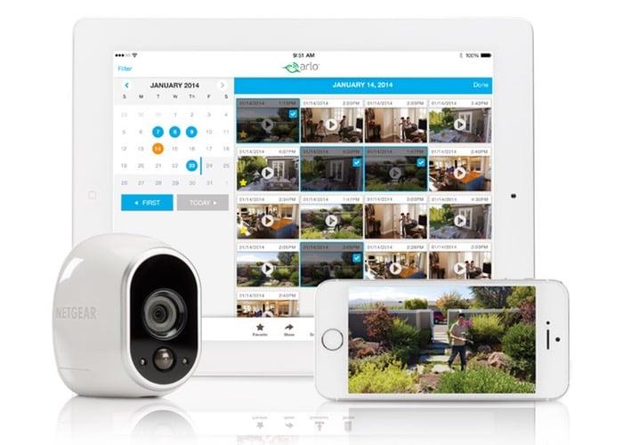Netgear Arlo HD Smart Wireless Home Security Camera System ...