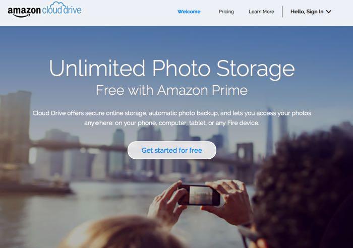 Amazon Cloud Drive API