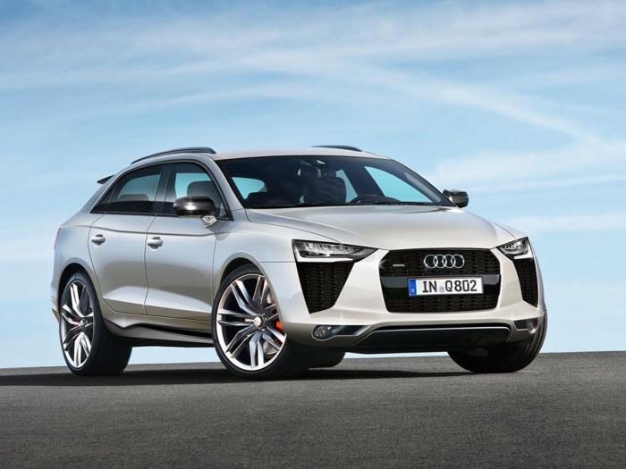 New Audi Q8 Suv In The Works