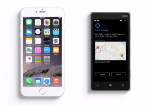 Cortana Vs Siri In Latest Microsoft Advert (Video)