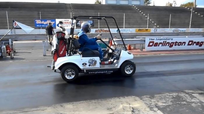 fastest golf cart