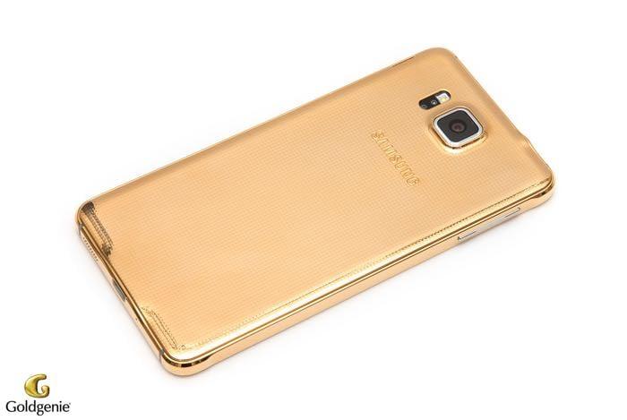 24 CT Gold Samsung Galaxy Alpha