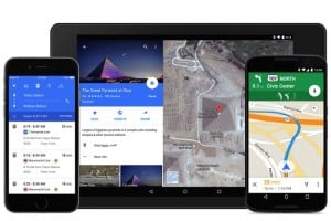 Google Maps For Android And iPhone Updated