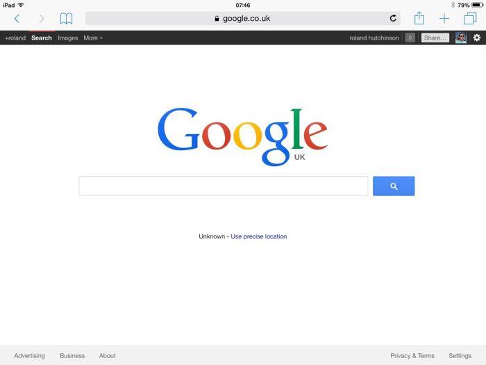 how to change search engine on safari ipad