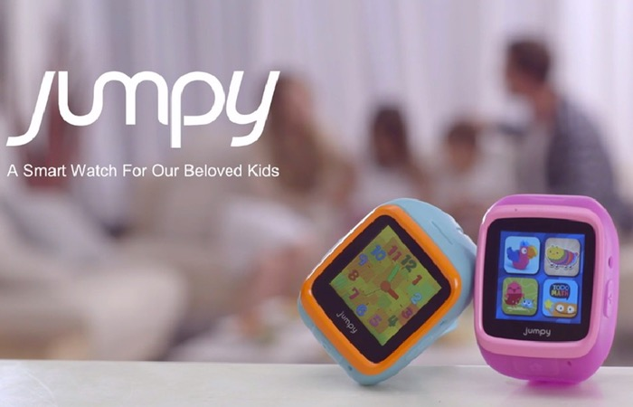 JUMPY Kids Smartwatch Interacts With Parents Smartphone ...