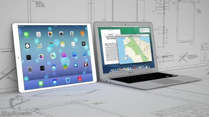 iPad Pro To Feature 12.2-inch Display, 7-mm Thick, left/right Stereo Speakers