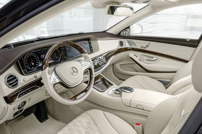 Mercedes Maybach S Class