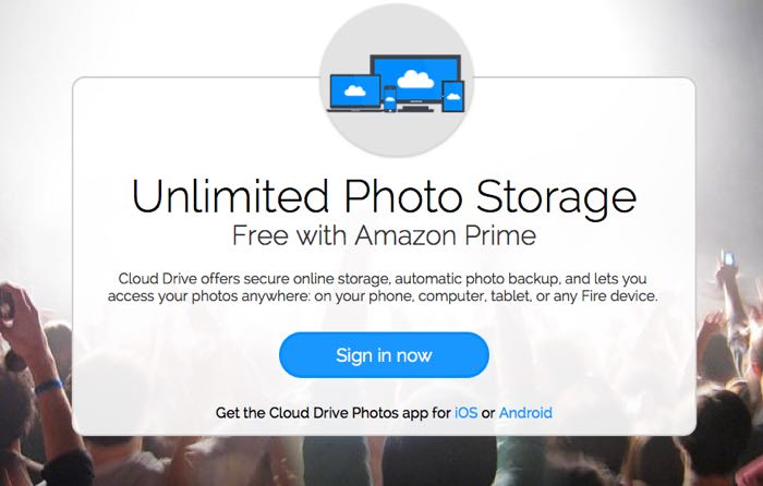 amazon prime cloud