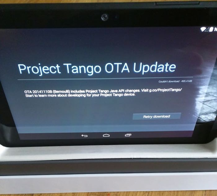 Google's Project Tango Tablet Now Shipping To Developers