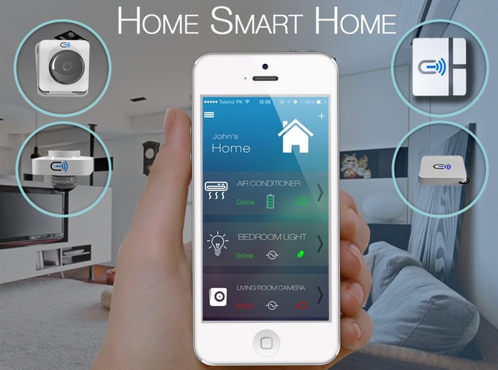 Cielo WiGle Smart Home Automation System (video)