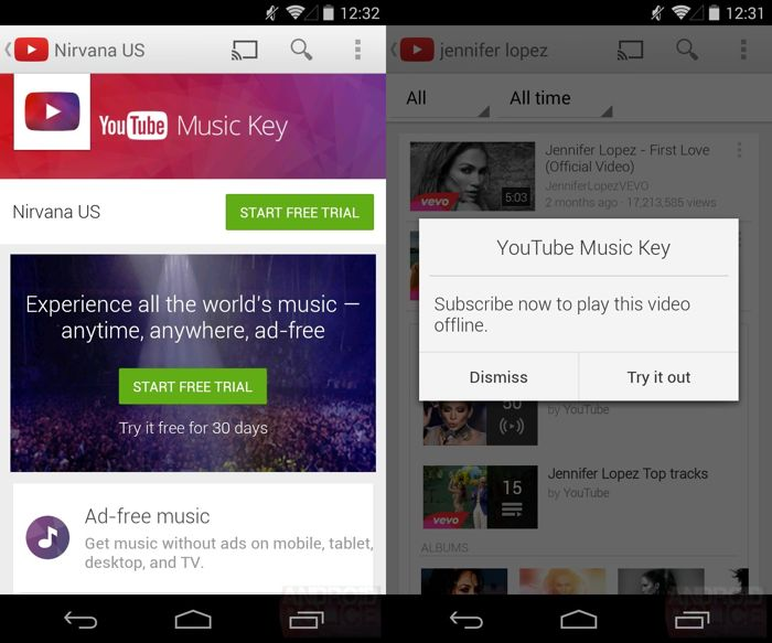 YouTube Music Subscription