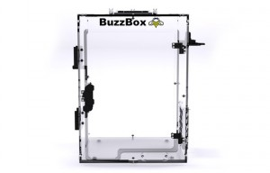 BuzzBox 3D Printer Customisable Enclosure (video)