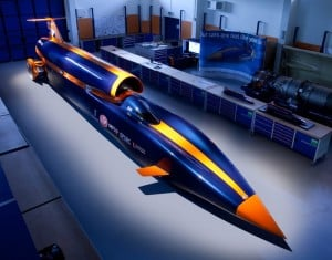 Bloodhound Supersonic Car Hybrid Rocket Motor Test Fired